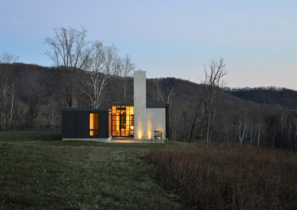 A Modern Mountain Home Nests Between Two Blue Ridge Peaks