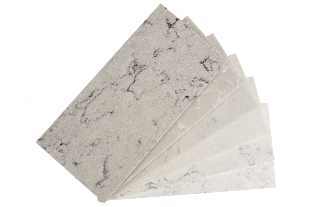 Marble-Look Quartz Surfaces