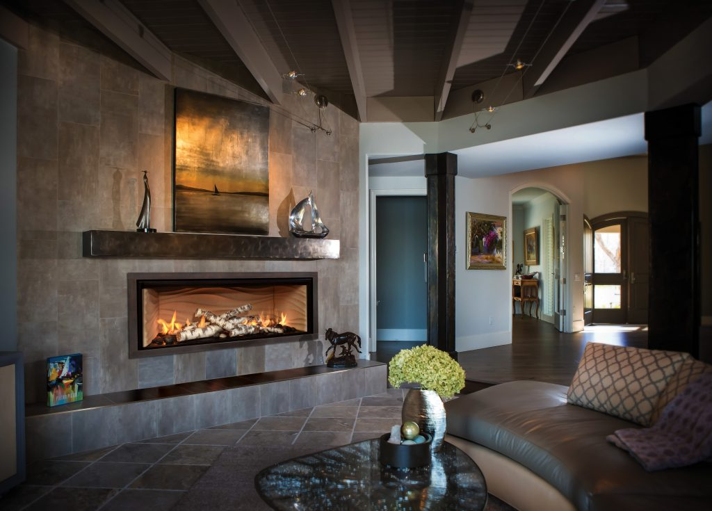 Customizable Gas Fireplace For Residential Pros