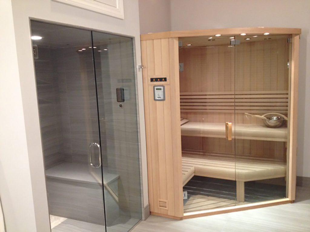 custom sauna steam shower for residential pros. Black Bedroom Furniture Sets. Home Design Ideas