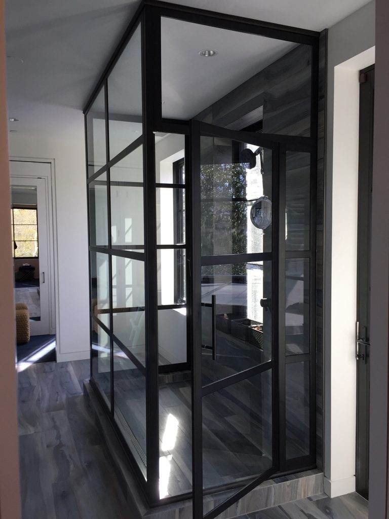 Customizable Glass Types Sizes For Shower Door For