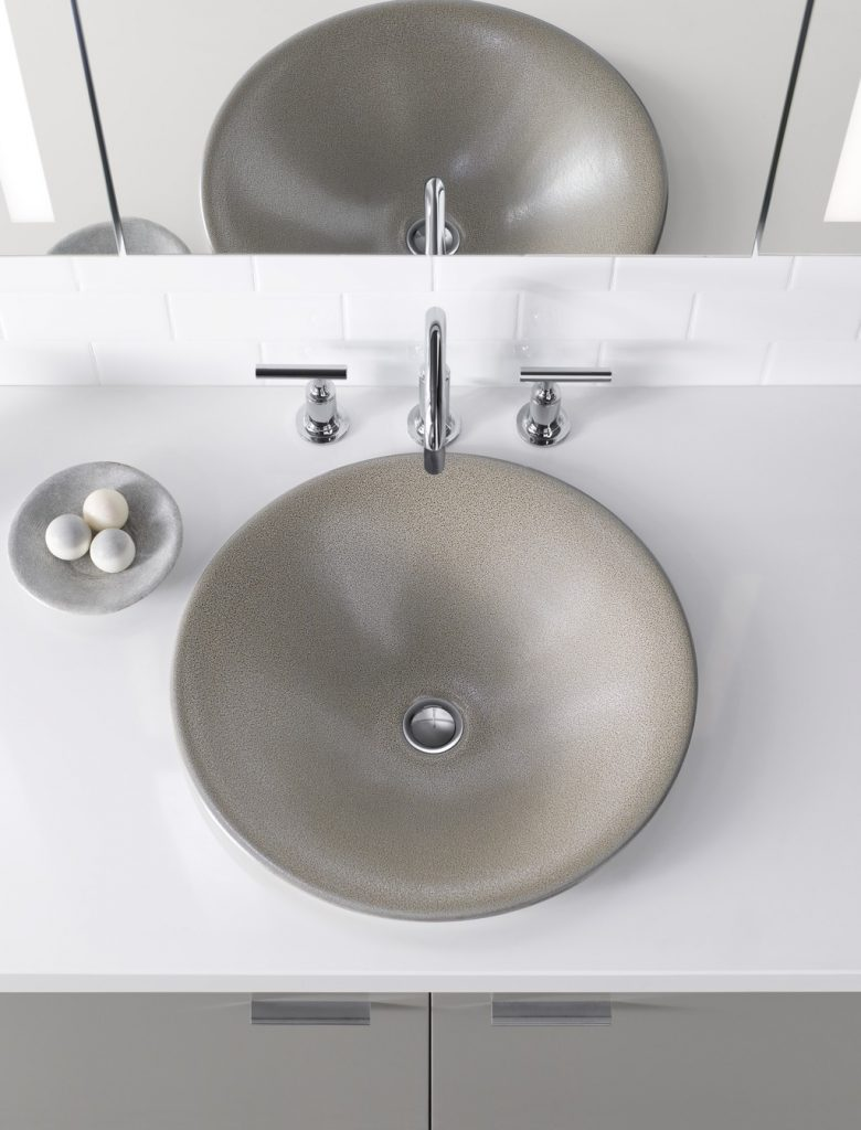 Artist Editions Shagreen Bath Sink For Residential Pros