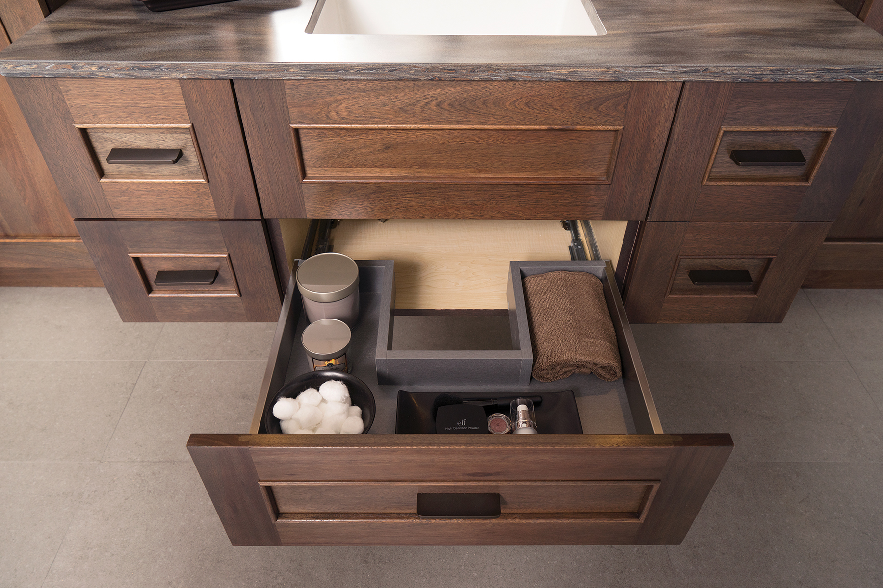 plumbing drawers for residential pros. Black Bedroom Furniture Sets. Home Design Ideas
