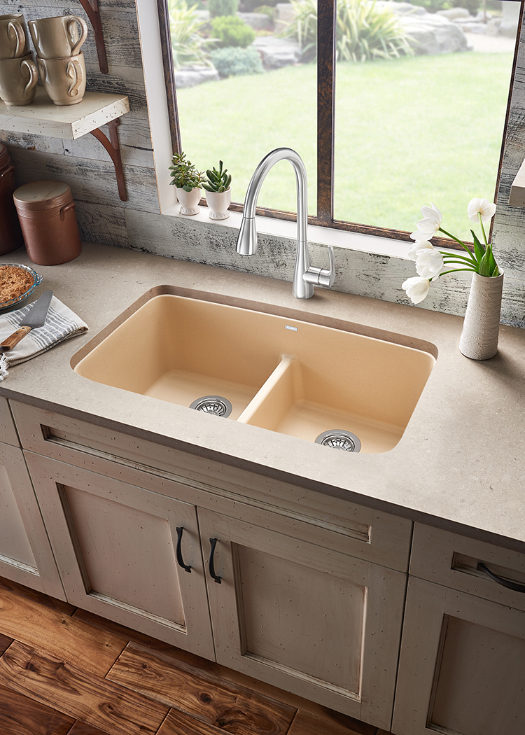 Double Bowl Low-Divide Sink | For Residential Pros