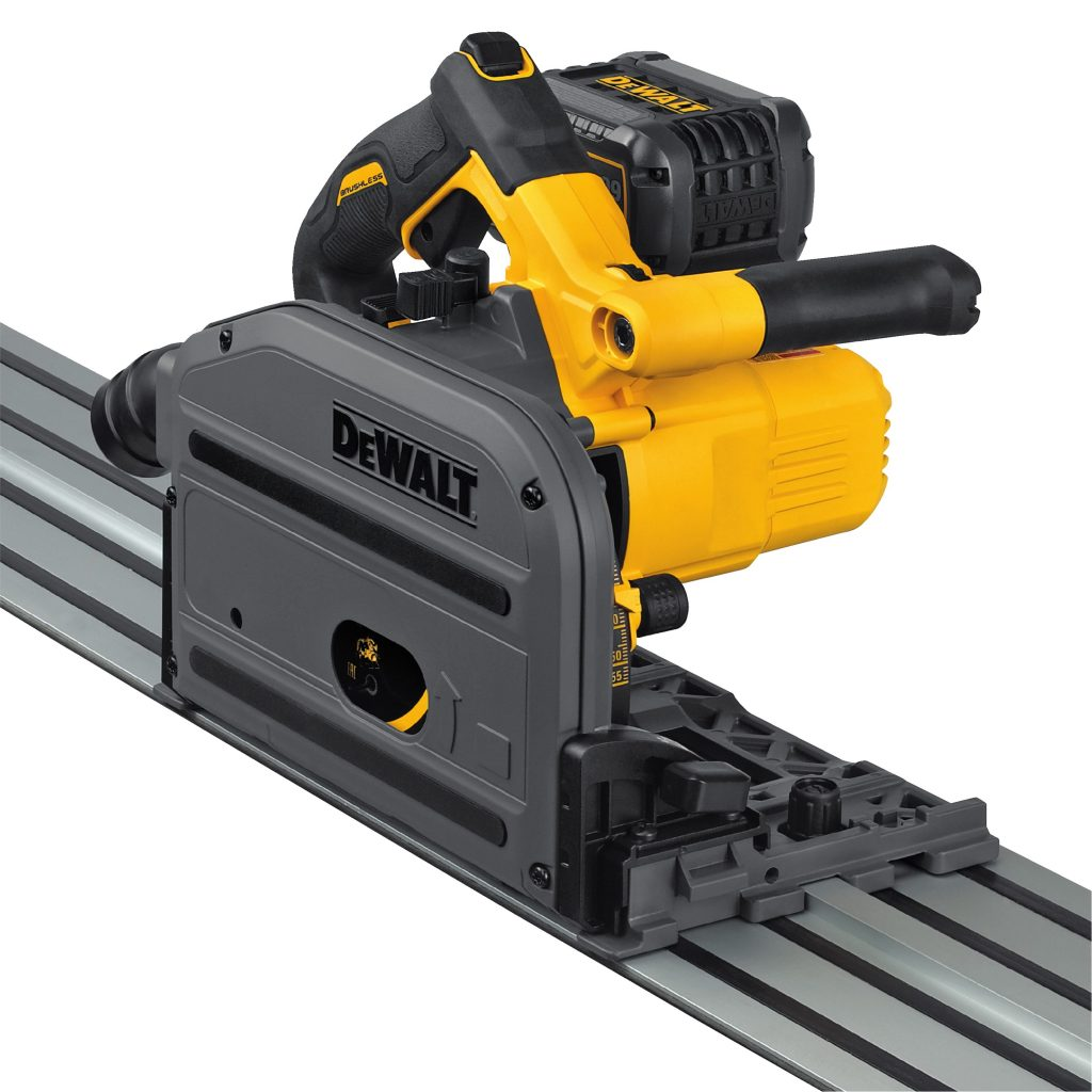 Track Saw For Ripping Cross Cutting Applications For