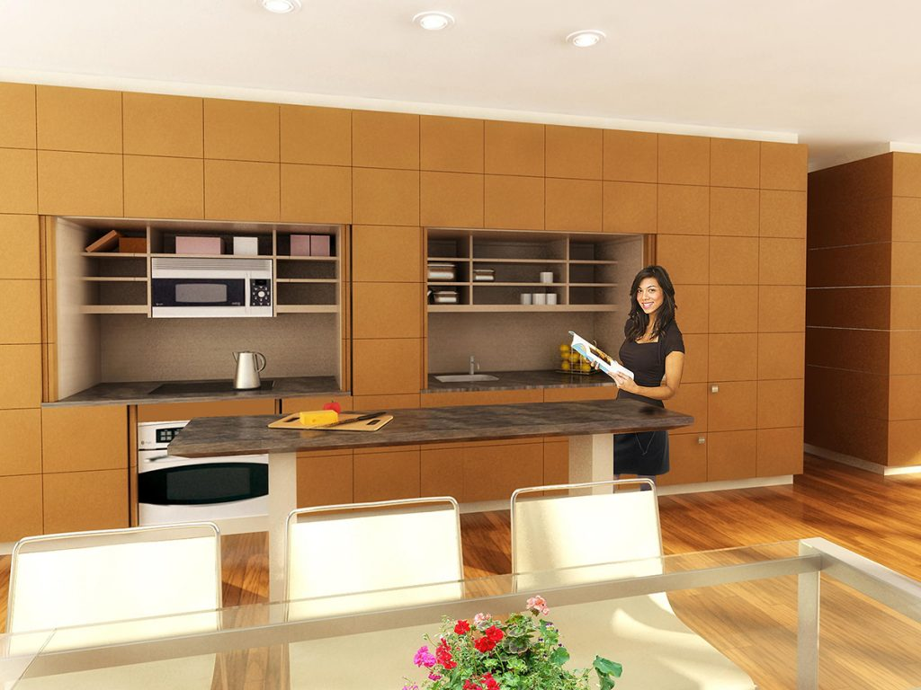 Hidden Kitchen Cabinet System | For Residential Pros