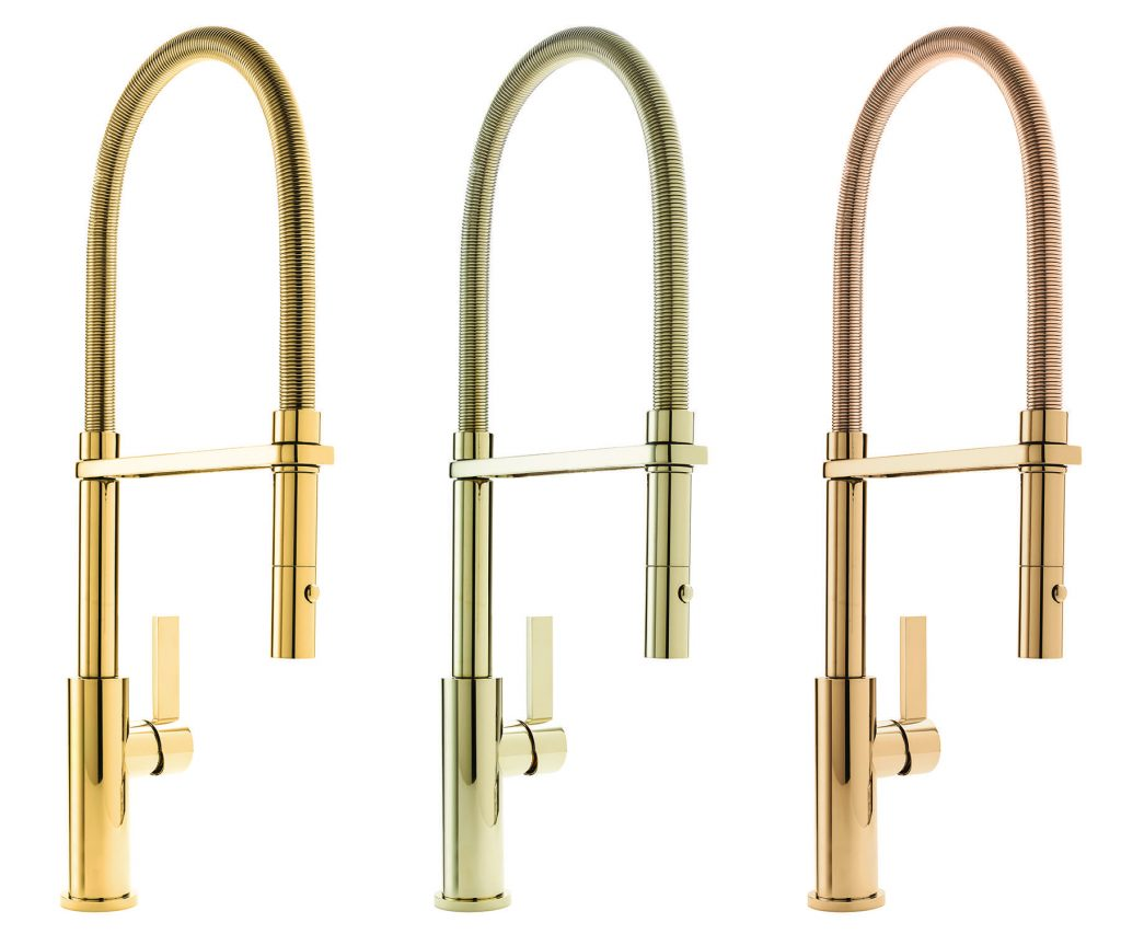Gold-Tone Kitchen Faucet Finishes | For Residential Pros
