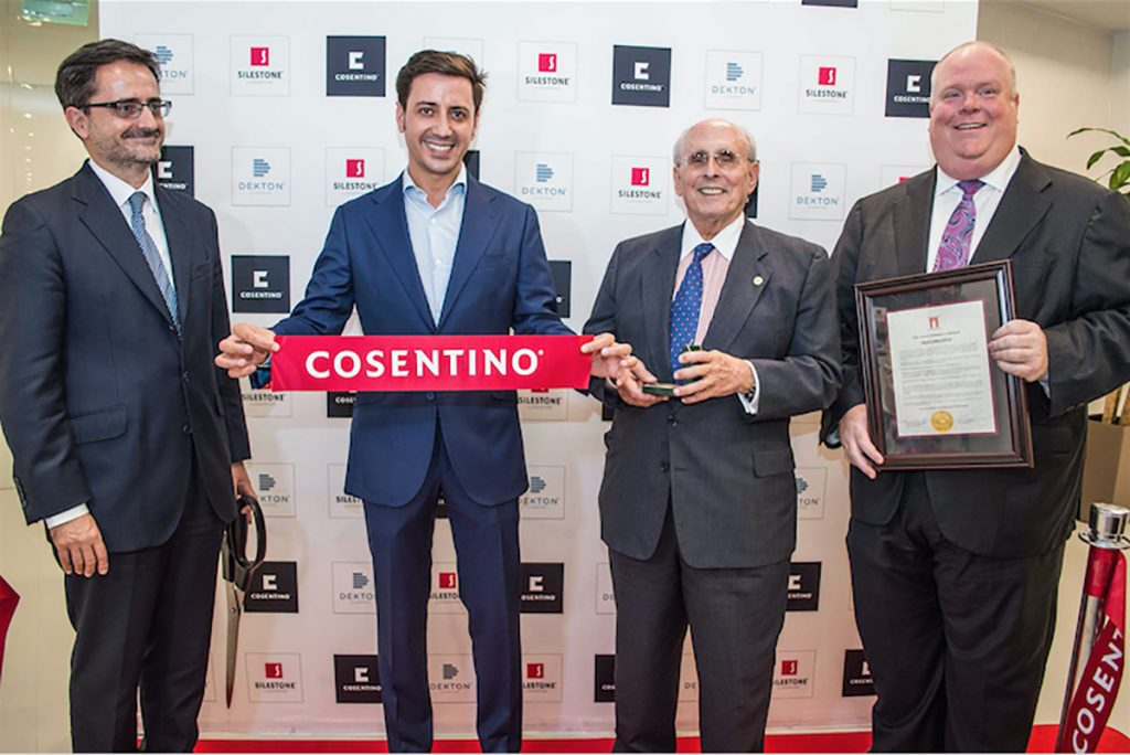 grand opening for cosentino americas operating center remodeling
