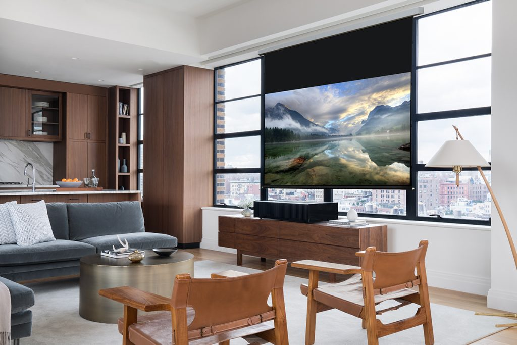 KBDN1117_Projector and Screen_Sony