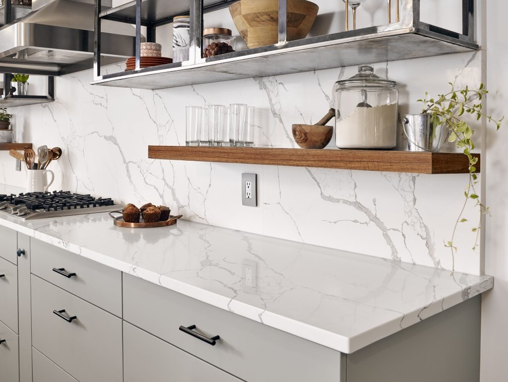 Marble Look Quartz For Residential Pros