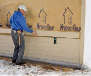 HydroGap Housewrap