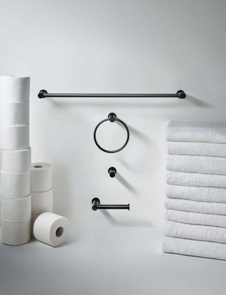 matte black bath accessories | for residential pros