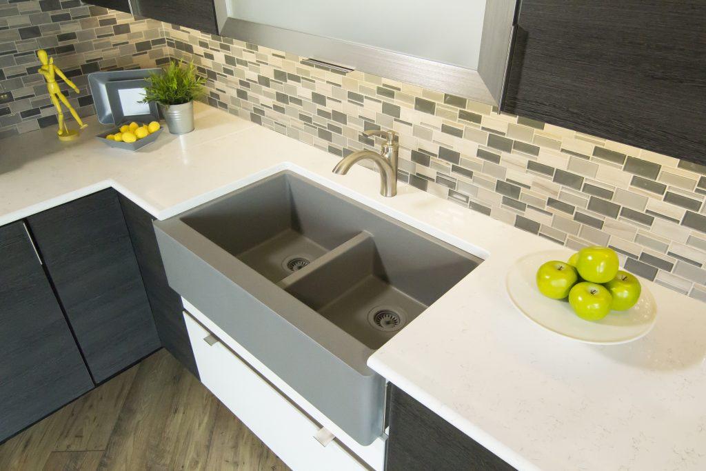 Quartz Composite Farmhouse Sink