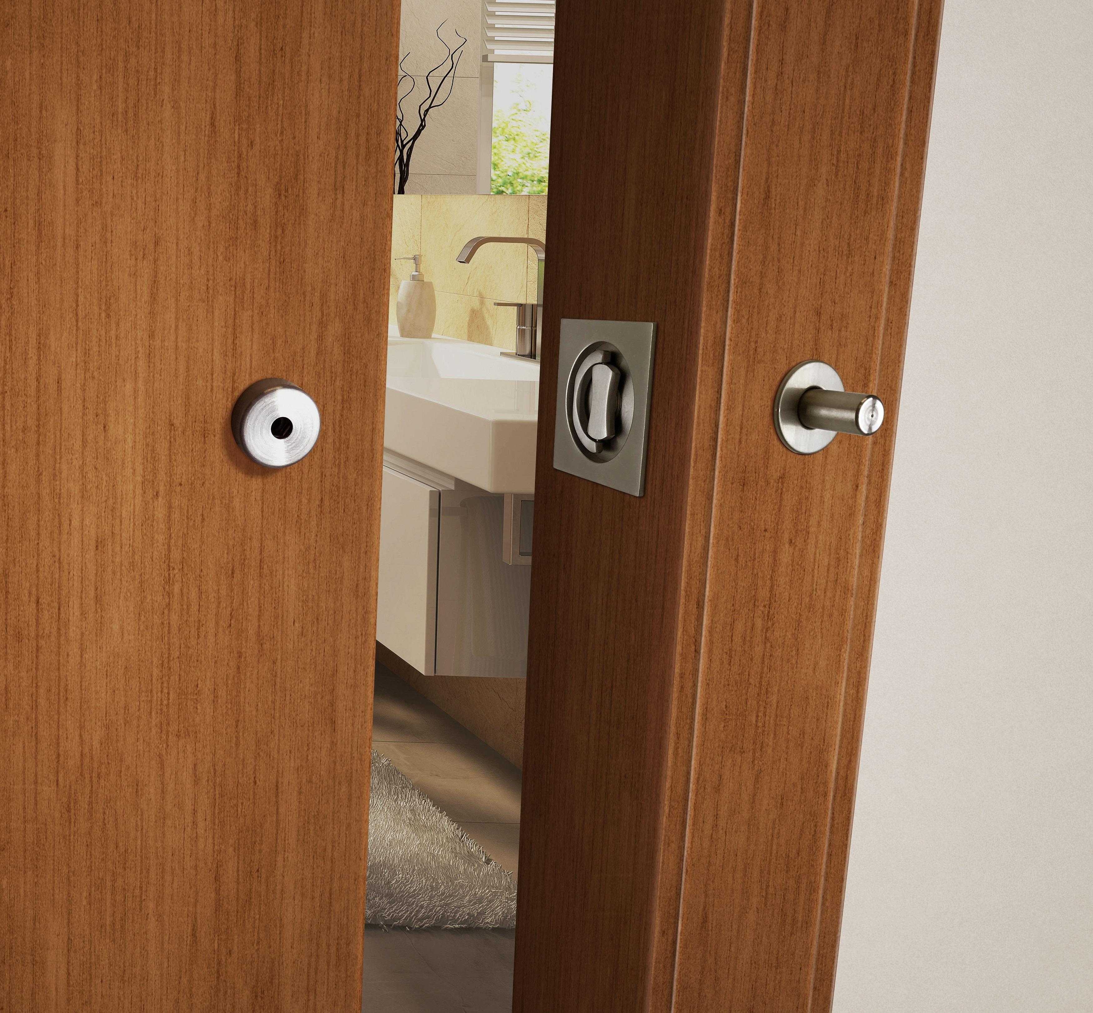 Sliding Barn Door Bathroom Privacy: Privacy Barn Door Lock