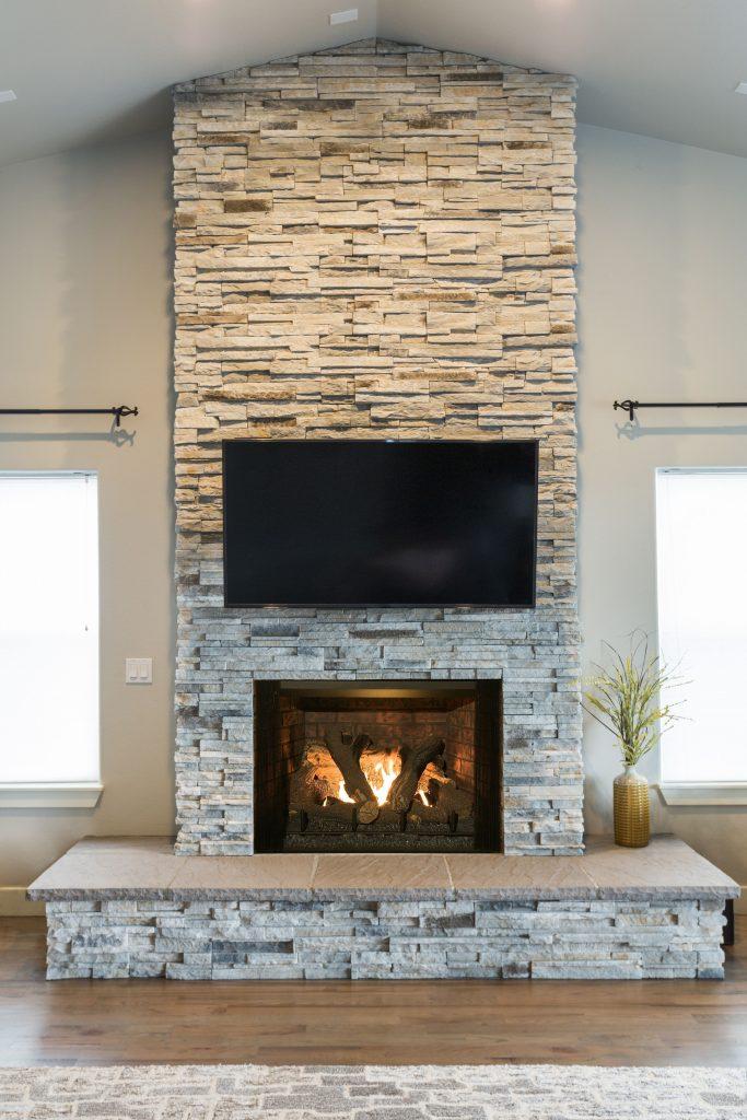 Gas fireplace offers design, install flexibility