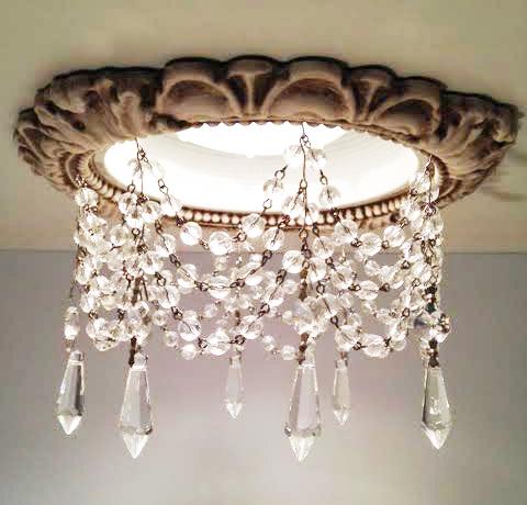 Victorian Style Recessed Trim Light