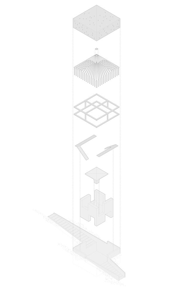 Axonometrics: Robert Hutchison Architecture