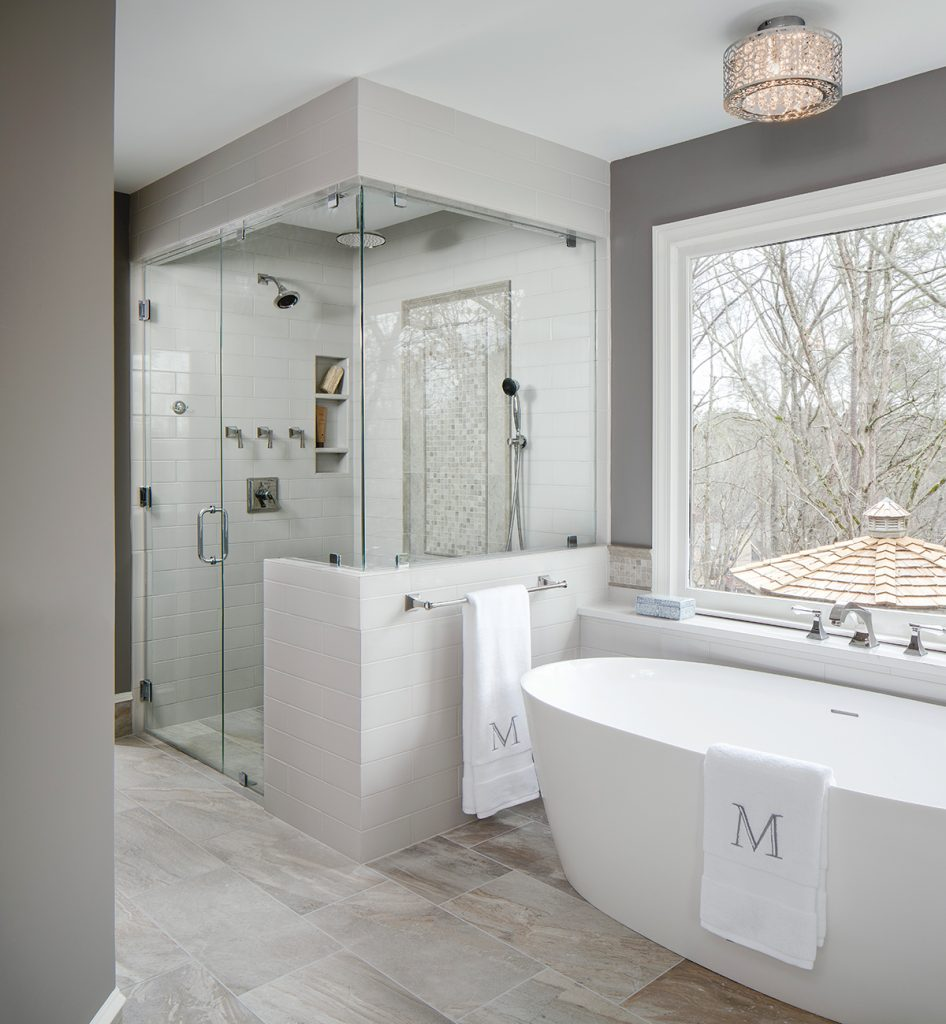 Spa Look Bathrooms: Kitchen & Bath Design News