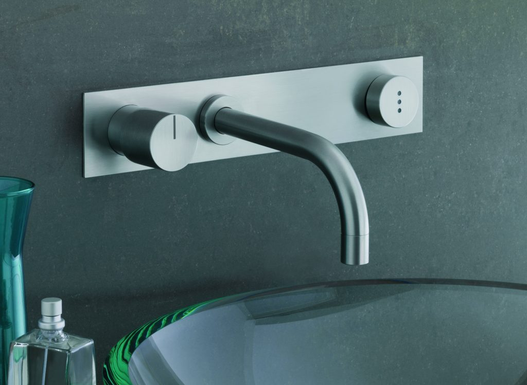 Hands-free faucet can have reduced flow rate