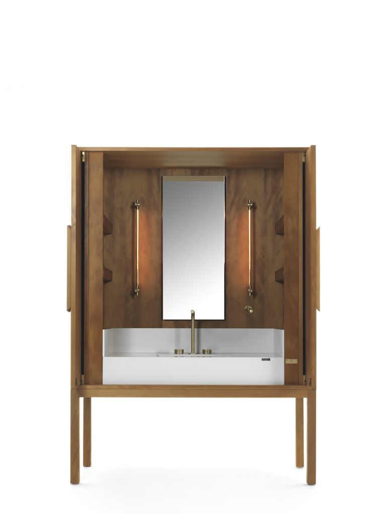 Freestanding Enclosed Vanity