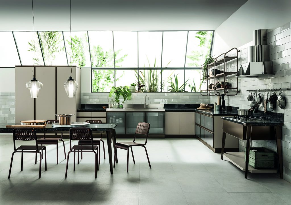 Open Industrial Kitchen Design For Residential Pros