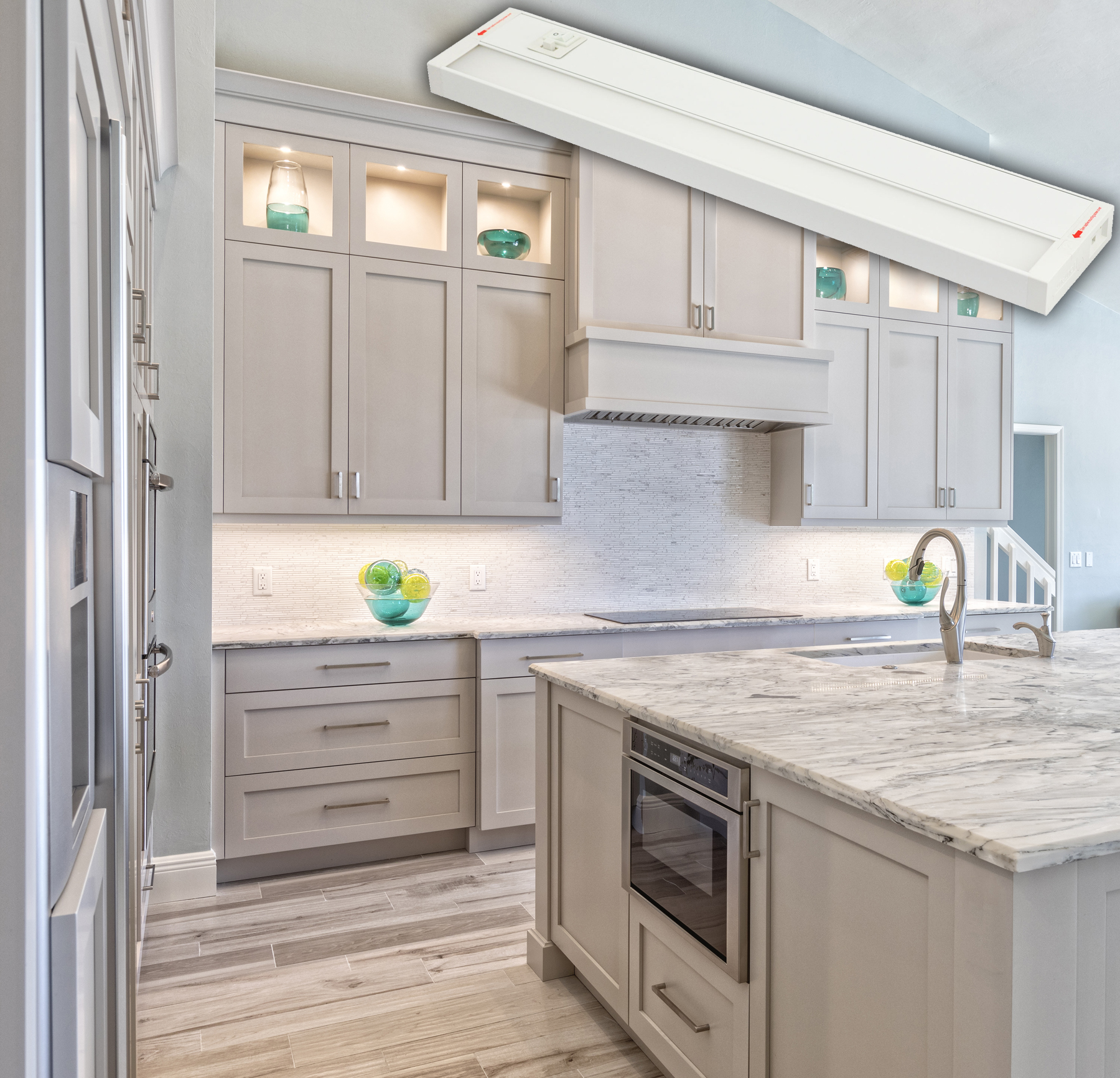 How To Choose Under Cabinet Lighting Kitchen: Select Color Temperature For Under-cabinet Fixture