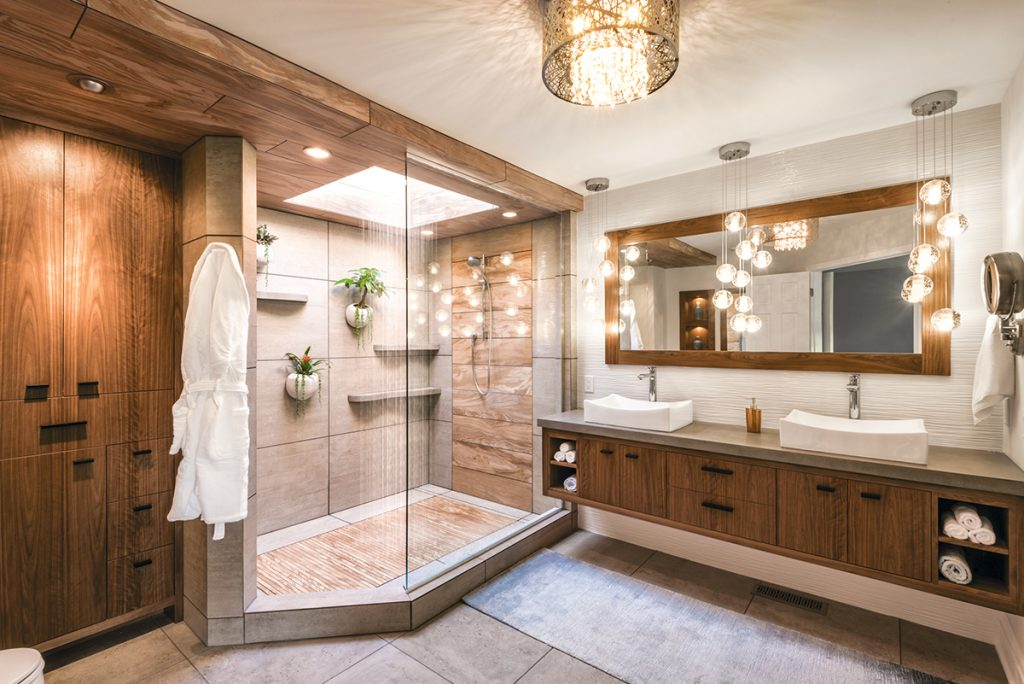 Master Bathrooms: Mother Nature Inspires Master Bath