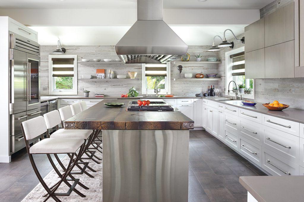 marvellous industrial chic kitchen | Industrial Chic | Kitchen & Bath Design News