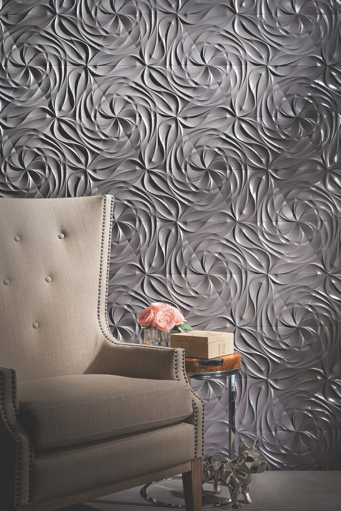Concrete wall tile makes statement