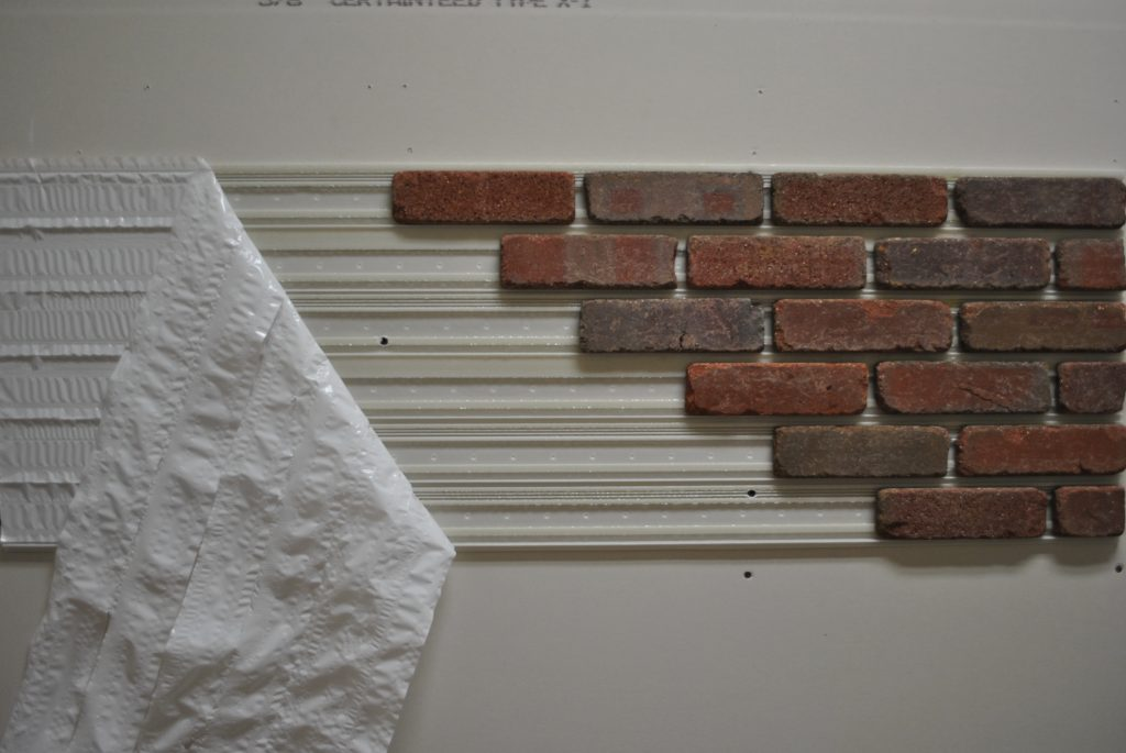 Panels Simplify Interior Thin Brick Installation For