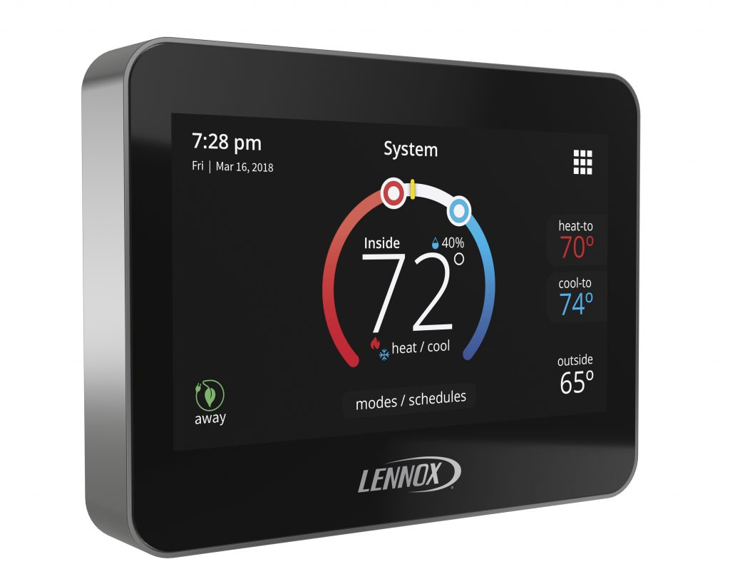 Smart thermostat learns lifestyles
