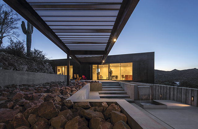 When architects Victor Sidy and Nick Mancusi first walked this hillside site with their clients the word that came to mind was u201cintimate. & Design Lab: Tucson Residence by Mancusi Design and Victor Sidy ...