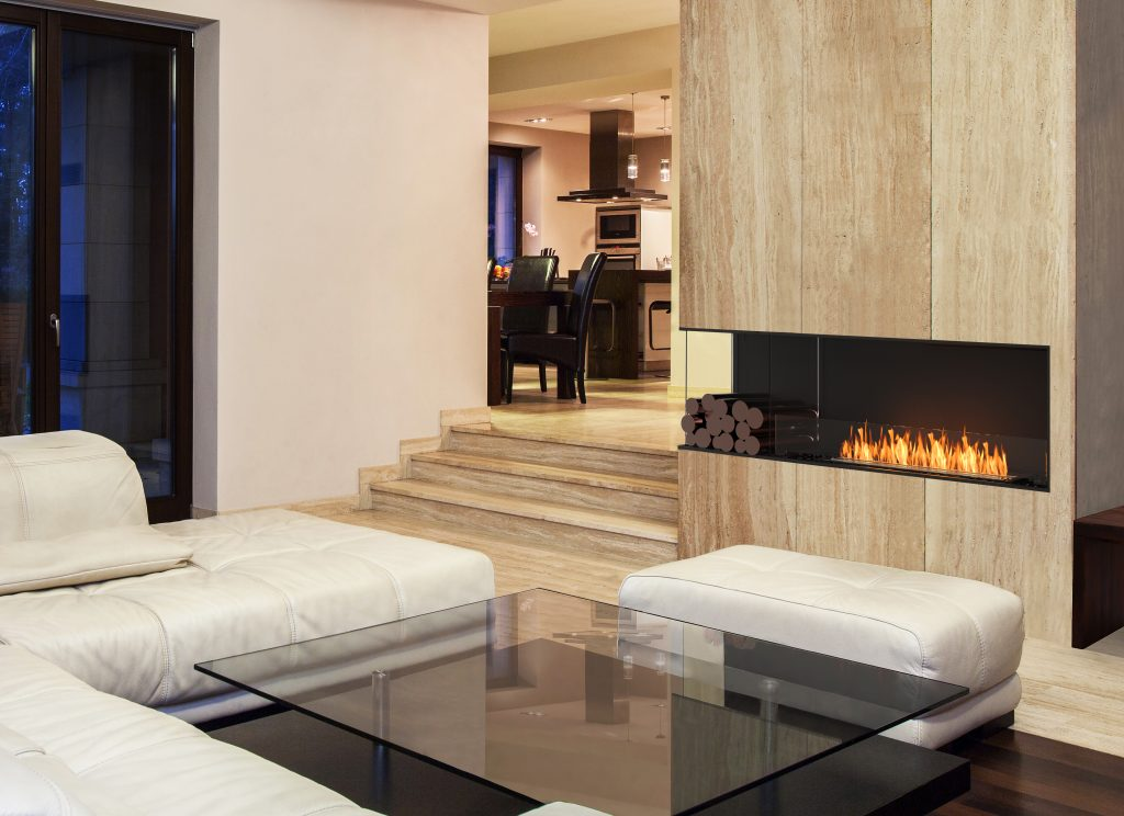 Fireplace collection provides seamless integration