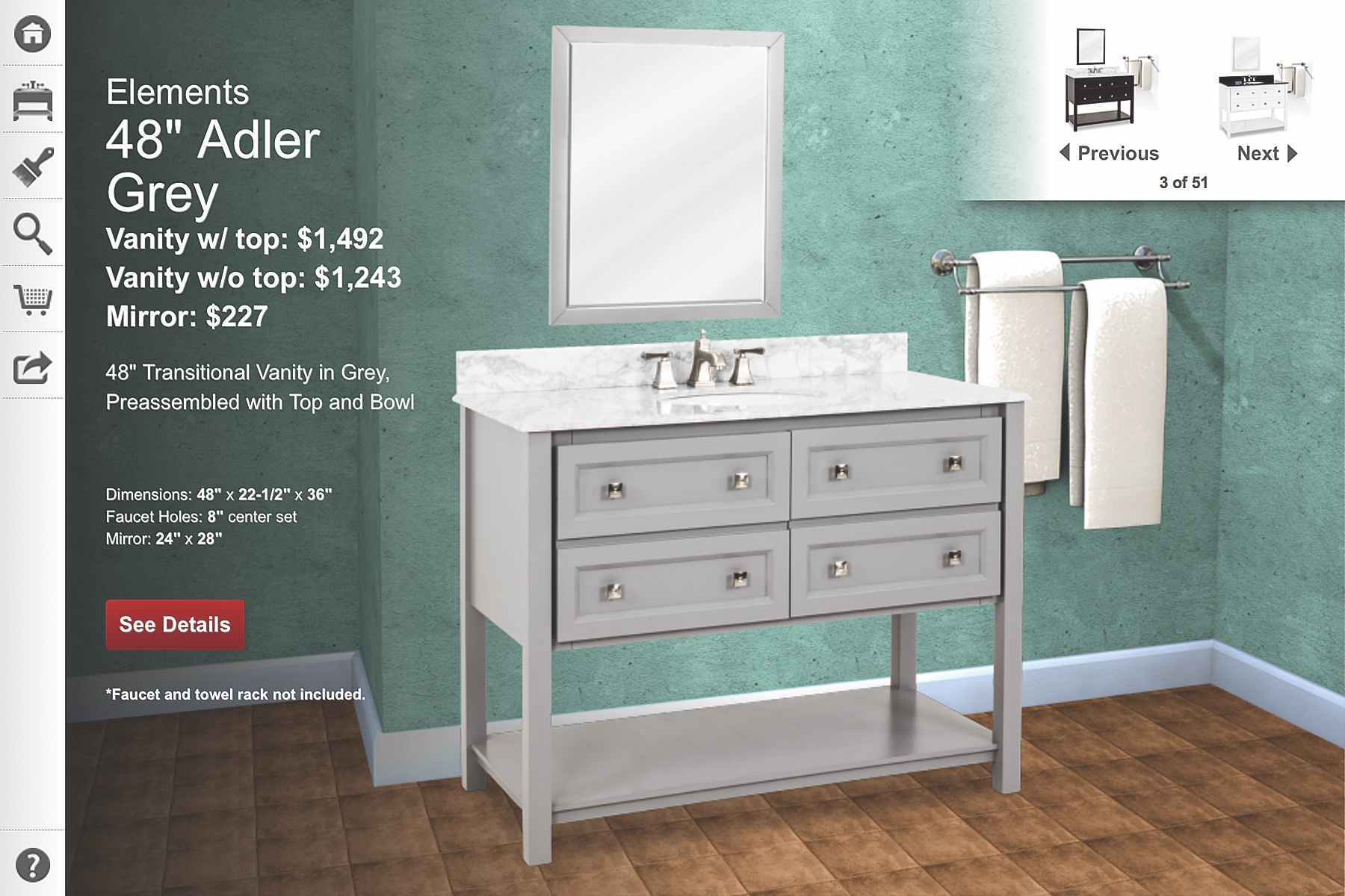 Swell Visualizer Tool Helps With Vanity Selection Remodeling Download Free Architecture Designs Scobabritishbridgeorg