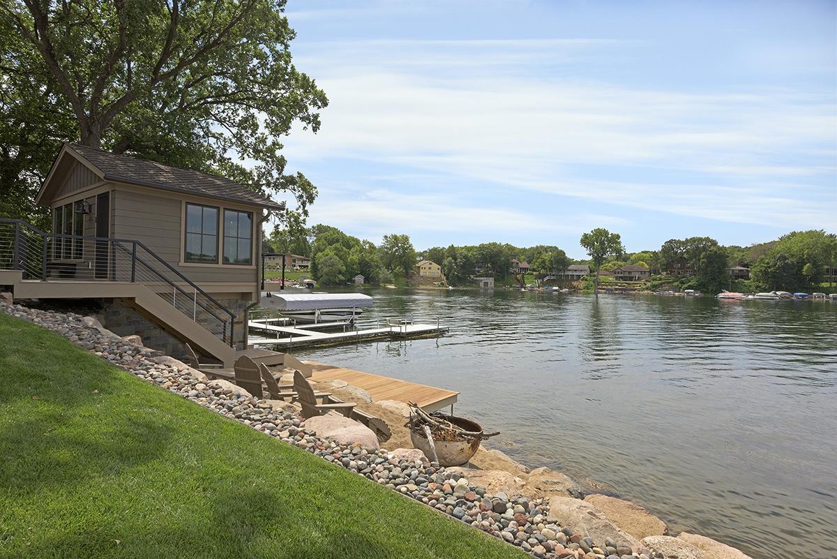 Lake Home Boathouse