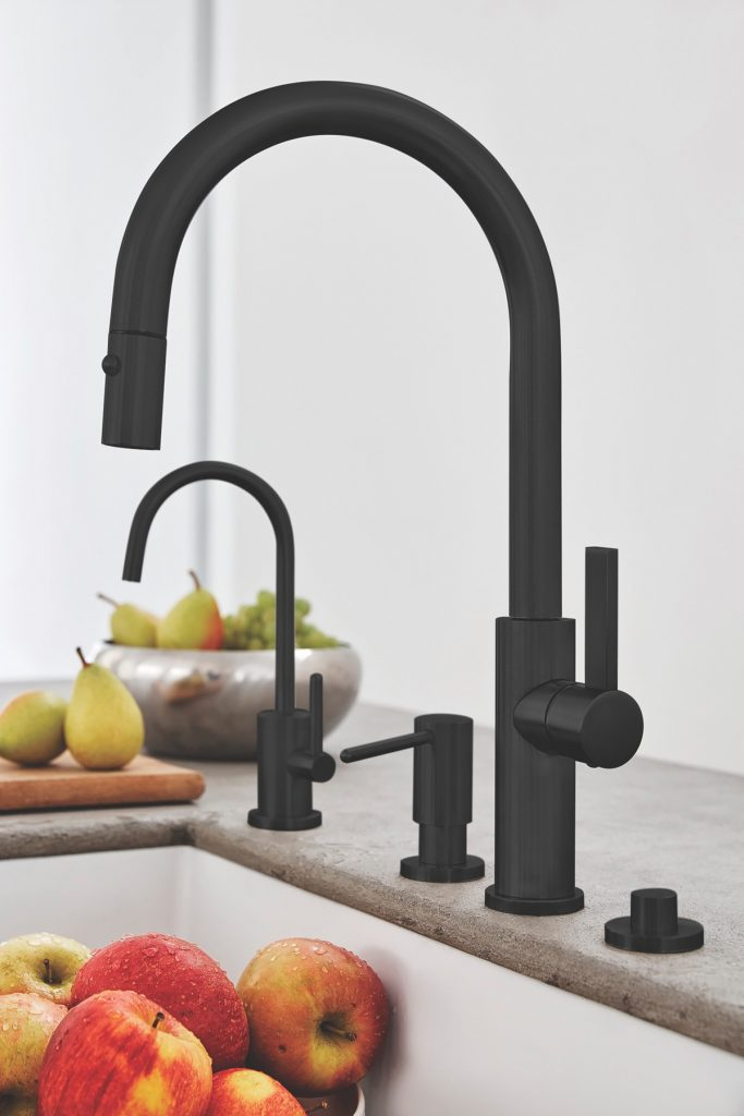 Black Kitchen Faucet Finishes | For Residential Pros