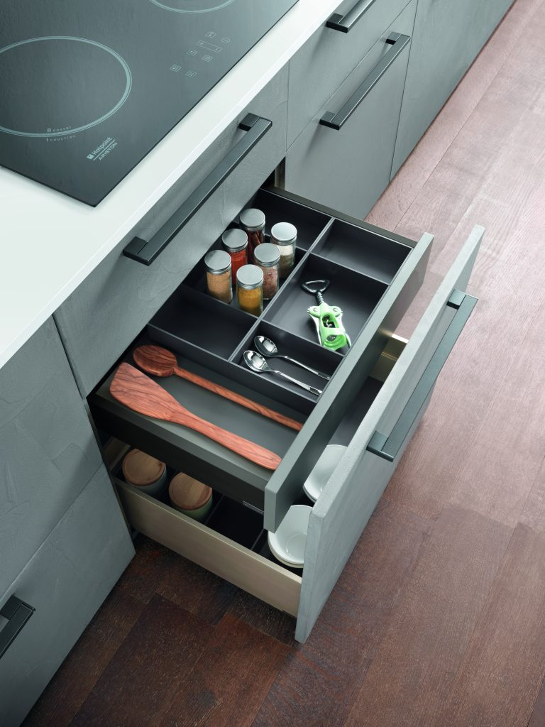 Split Drawer System