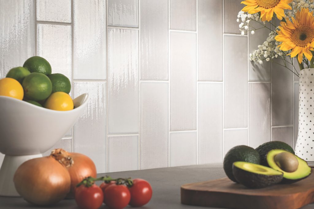 Ceramic tile collection looks to watercolor painters