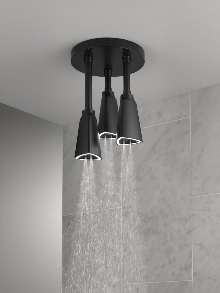 Illuminated Pendant Showerhead