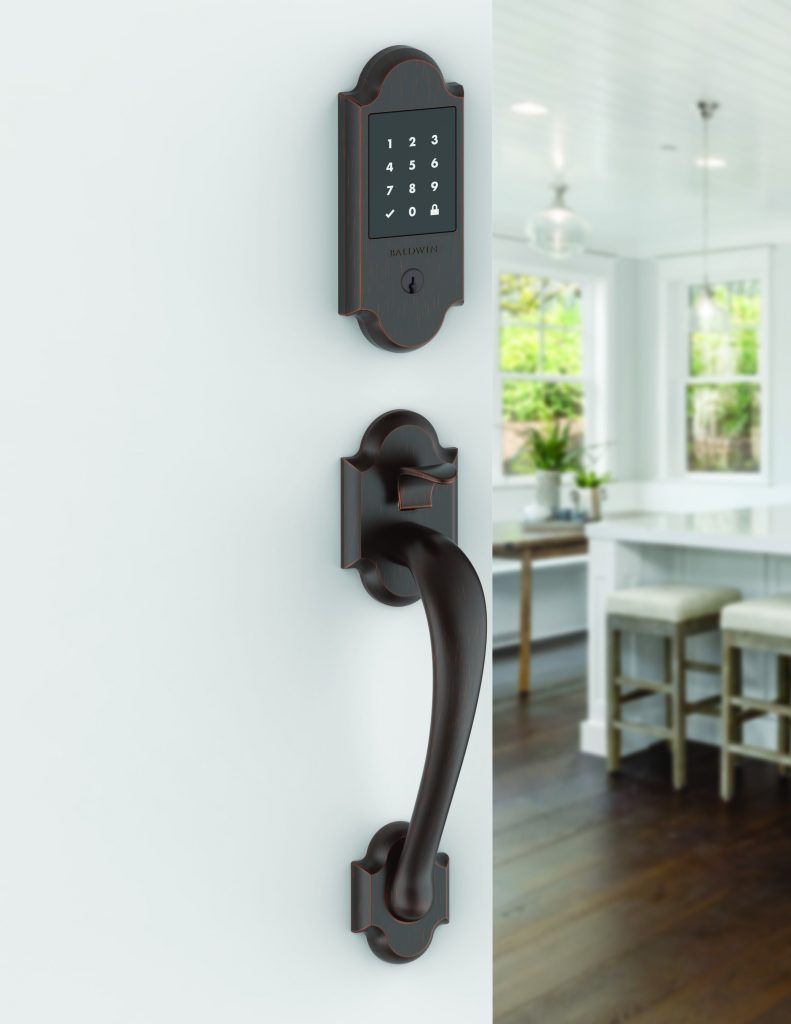 Design pairs with technology for smart lock