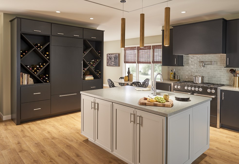 Cabinets in Neutral