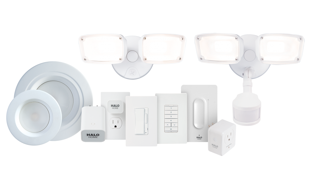 Connected home lighting system