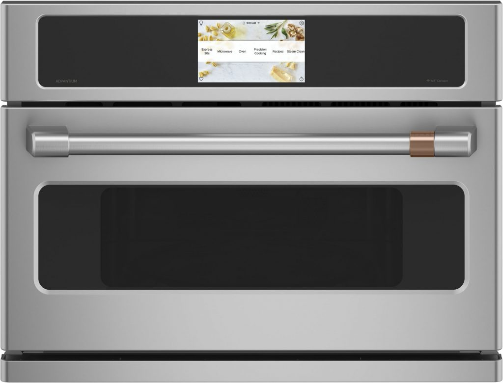 Wall oven unites cooking functions