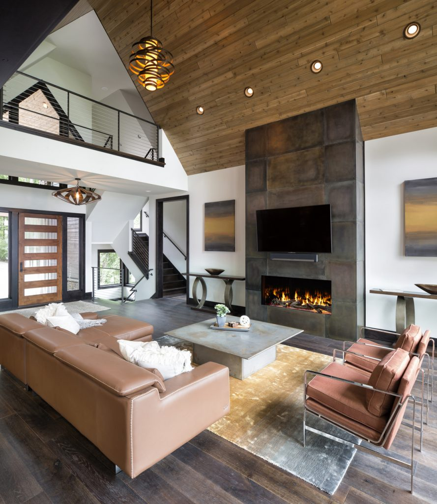 UL-approved gas fireplace