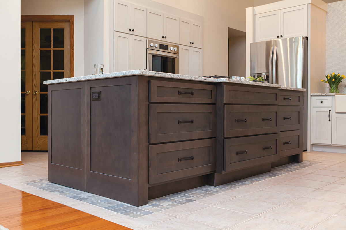 Floating Kitchen Gets Functional Overhaul Kitchen Bath Design