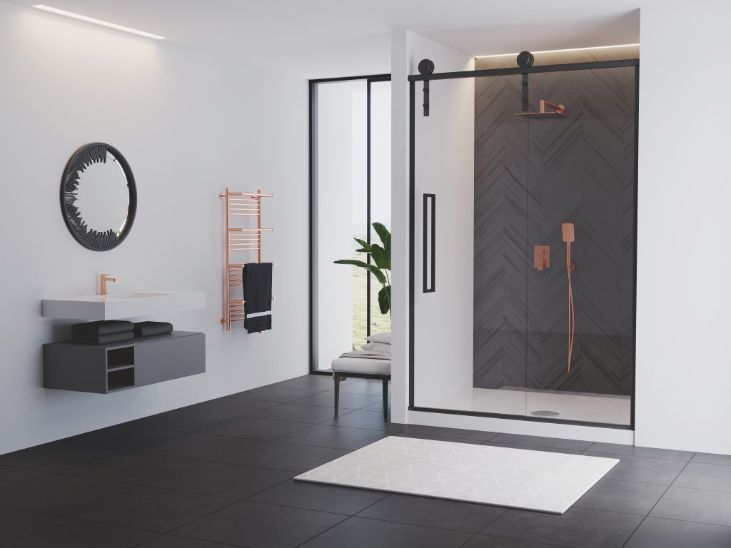 Rustic Shower Doors Kitchen Bath Design News