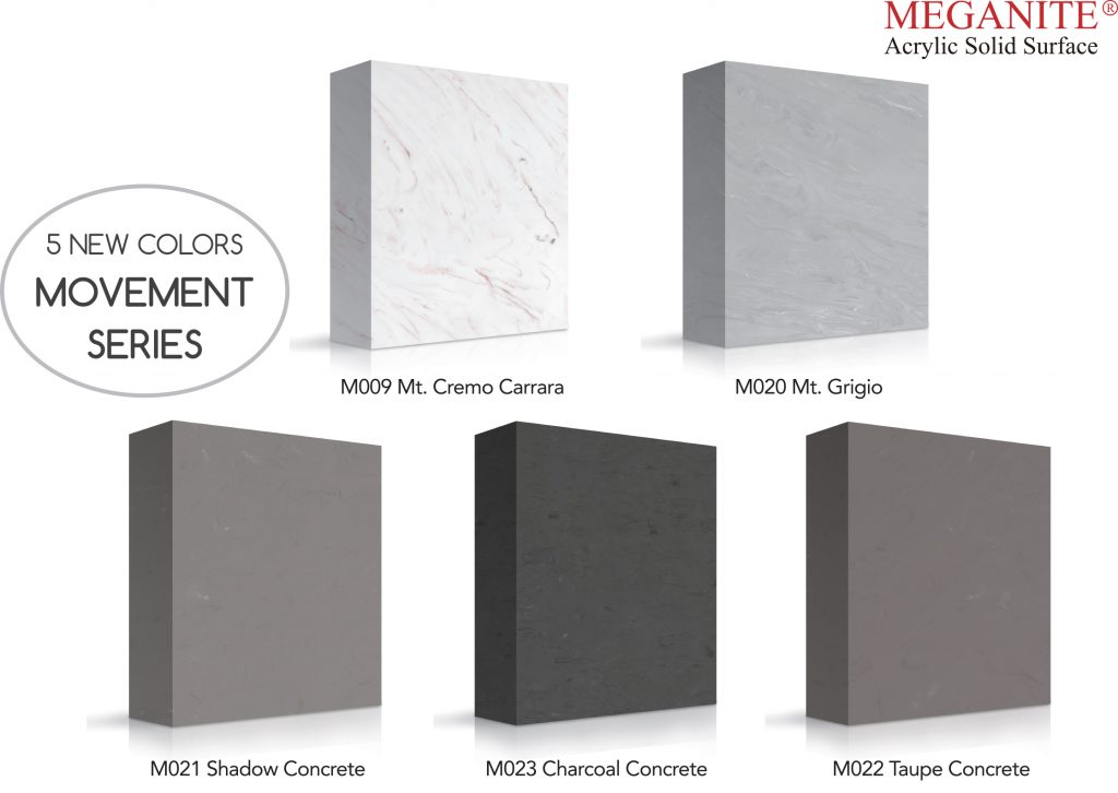 Solid Surface Concrete Collection