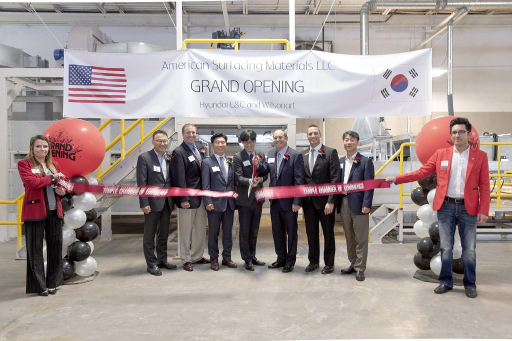 Factory Marks Wilsonart, Hyundai Joint Venture