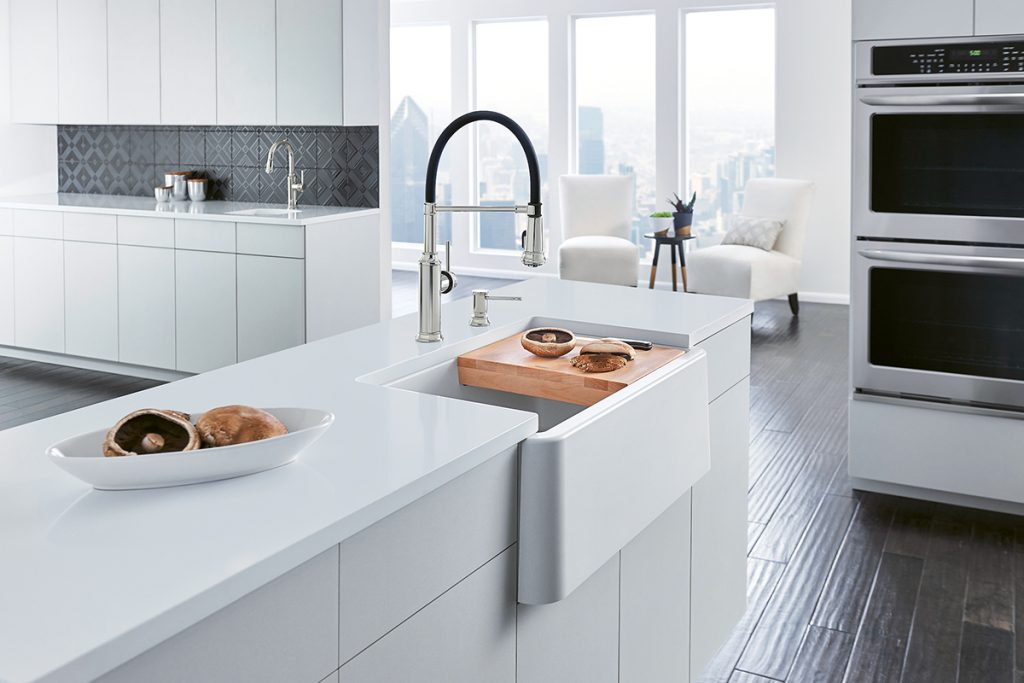 Kitchen Faucets: Mix and Match