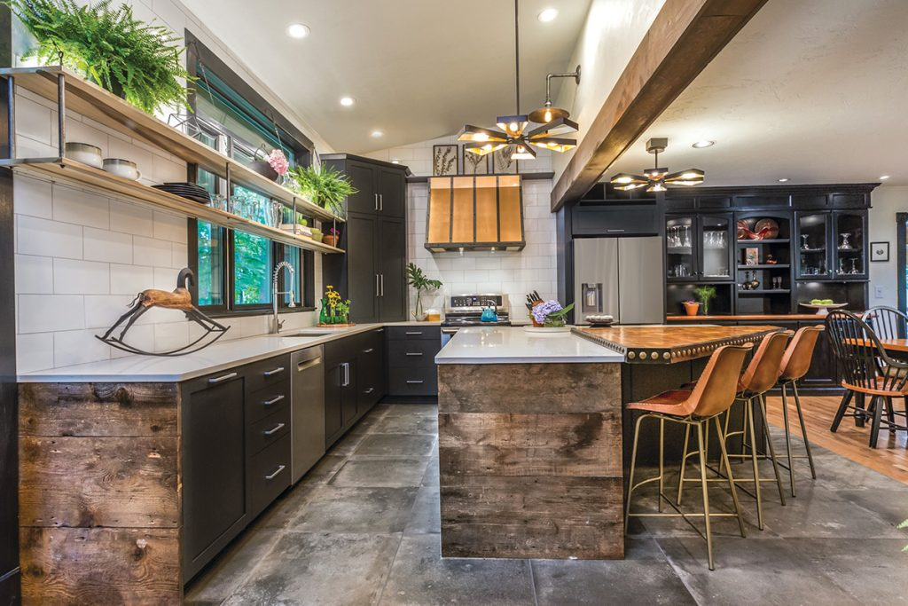 Kitchen Renovation Wows Client